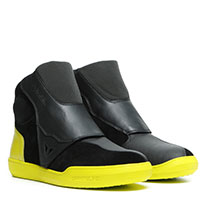 Dainese Dover Gore-tex Shoes Black Yellow