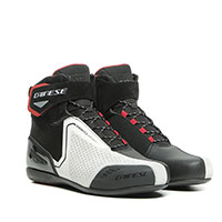 Dainese Energyca Air Shoes White Fluo Red