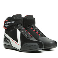 Dainese Energyca D-wp Shoes White Fluo Red