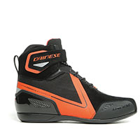 Dainese Energyca D-wp Shoes Black Fluo Red