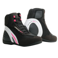 Dainese Motorshoe D1 Air Lady Shoes Pink