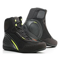 Dainese Motorshoe D1 Air Shoes Black Yellow
