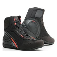 Dainese Motorshoe D1 Air Shoes Black Red