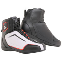 Dainese Raptors Air Shoes Black White Red