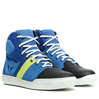 Dainese York Air Shoes Blue Yellow