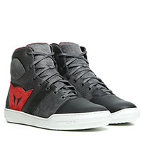Chaussures Dainese York Air Noi Rouge