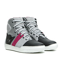 Dainese York Air Lady Shoes Light Gray Coral