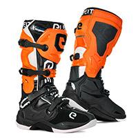 Botas Eleveit X Legend negro naranja blanco
