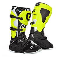 Eleveit X Legend Boots Black Yellow Fluo