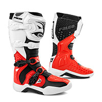 Falco Level Boots White Red