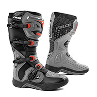 Falco Level Boots Grey Red