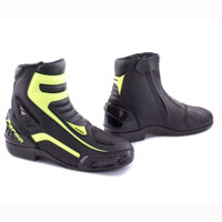 Motorcycle Boots Forma Axel Black Yellow Fluo