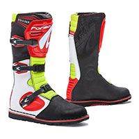Forma Boulder White Red Yellow Fluo