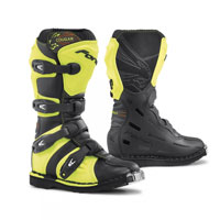 Forma Cougar Black Yellow Kid