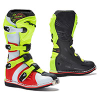 Forma Cougar Black Yellow Fluo Red Kid