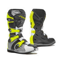 Motocross Boots Kid Forma Cougar Grey Yellow Fluo Kid