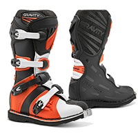 Forma Gravity Kid Boots Black Orange Kid
