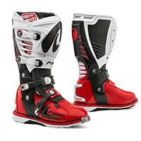 Stivali Forma Predator 2.0 Nero Bianco Rosso