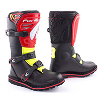 Forma Rock Kid Boots Black Red Yellow