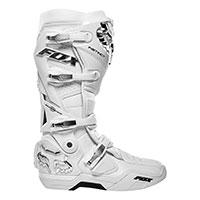 Fox Instinct Boots White Silver