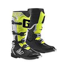 Gaerne G-React Goodyear MX Offroad Stiefel rot gelb