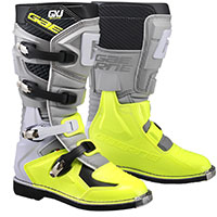 Gaerne Gxj Kid Boots Grey Yellow Kid