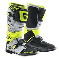 Gaerne Sg-12 White Grey Yellow Fluo
