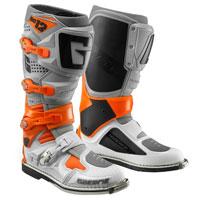 Stivali Gaerne Sg 12 Grigio Arancio Bianco