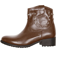 Helstons Texas Lady Shoes Brown