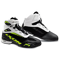Ixon Bull Wp Shoes Black White Yellow Fluo