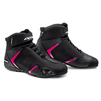 Ixon Gambler Wp Lady Shoes Black Fuchsia