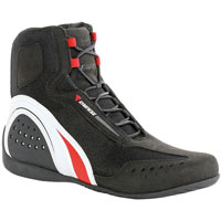 Dainese Motorshoe Air Jb Black White Red