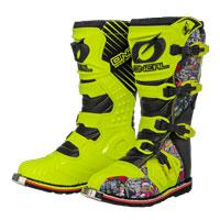O'neal Rider Crank Boots Multicolor