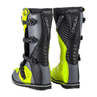 O'neal Rider Boots Gray Yellow