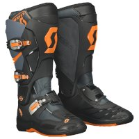 Botte Scott 550 Mx Noir Orange