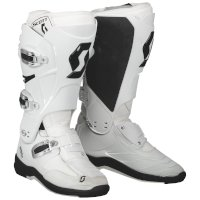 Scott 550 Mx Boot White