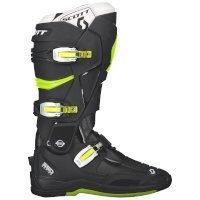 Scott 550 Mx Boot Black Green