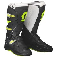 Arranque MX SCOTT 550 negro verde