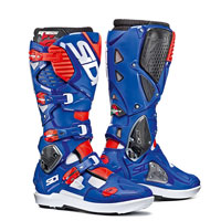Sidi Crossfire 3 Srs White-blue-fluo Red