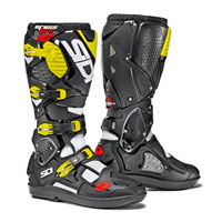 Sidi Crossfire 3 Srs White-black-fluo Yellow