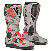 Sidi Crossfire 3 Srs Grey Fluo Red