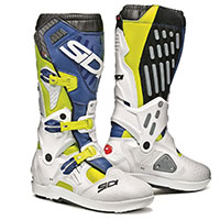 Sidi Atojo Srs Boots Yellow White Blue