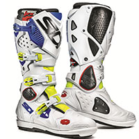 Sidi Crossfire 2 Srs Yellow Fluo White Blue