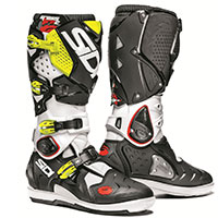 Sidi Crossfire 2 Srs White Black Fluo Yellow
