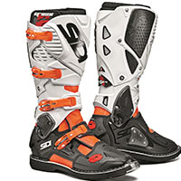 Sidi Crossfire 3 Boots Orange Fluo Black White