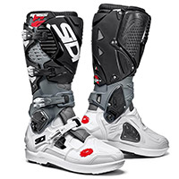 Sidi Crossfire 3 Srs Boots White Grey Black