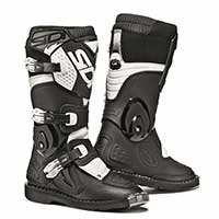 Sidi Flame Kid Boots Black Black White Kid