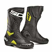Sidi Performer Boots Black Yellow