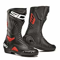Sidi Performer boots black red