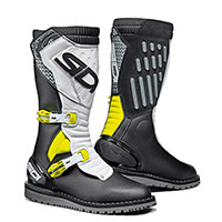 Sidi Trial Zero.2 Boots Black White Yellow